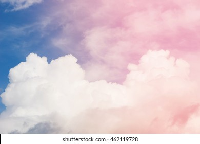 Fantasy sky colors blur background.