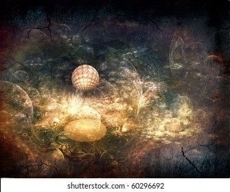 Fantasy space backgrounds