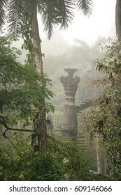 Fantasy tropical castle in Xilitla Mexico; travel and adventure by Edward James