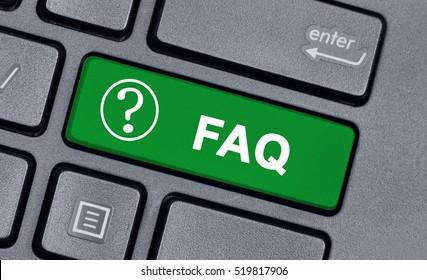 Faq word on keyboard computer