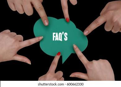 Faq's, Business Concept