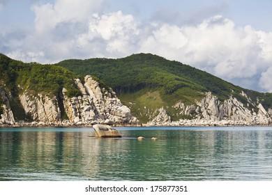 The Far East Of Russia. The coast of the Japanese sea