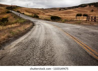 Far west. California. USA