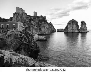 Faraglioni of Scopello in Sicily - Italy