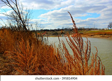 Fargo North Dakota by the Red River Early Spring
