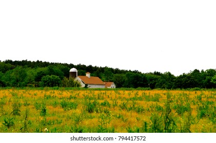 Farm House along the minuteman trail