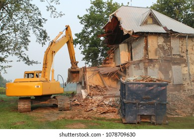Farm House Demolition
