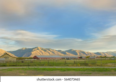 Farm, Logan, Utah, USA
