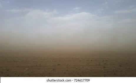 farm sand storm drought