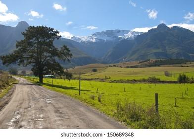 Farm scene in the Overberg - South Africa