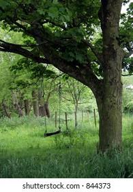 a farm swing