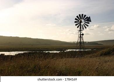 Farm windmill, Australia