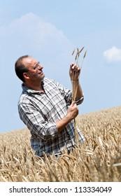 a farmer - farmer in the cereal box.