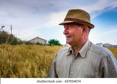 Farmer waiting for his crop
