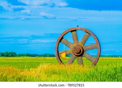 Farmer wheel of fortune