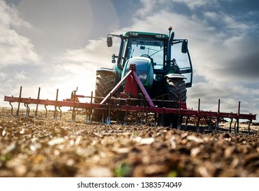 farmer at work in the fields
