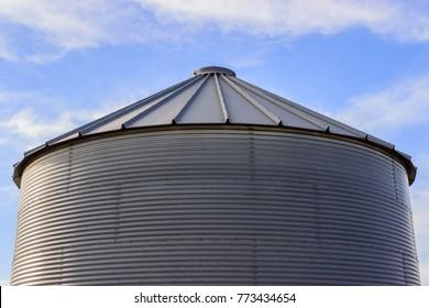 Grain Storage Bins Images, Stock Photos & Vectors | Shutterstock