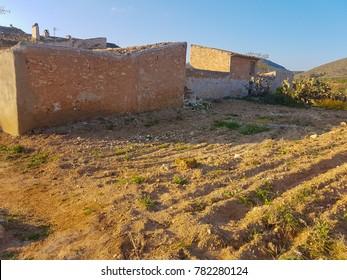 Farmer's house in southern Spain