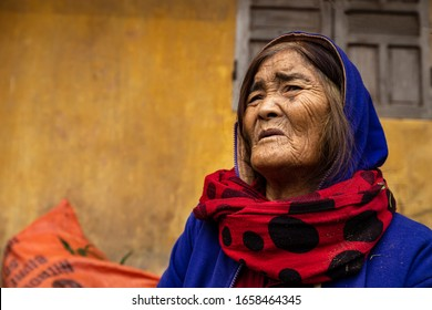 Farmers Wife in a Village of Vietnam