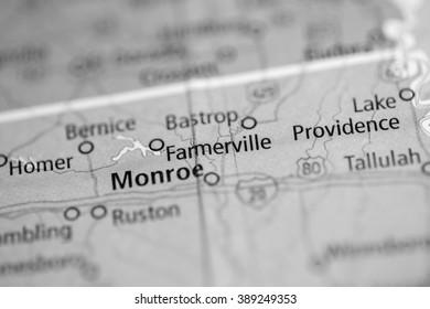 Farmerville. Louisiana. USA