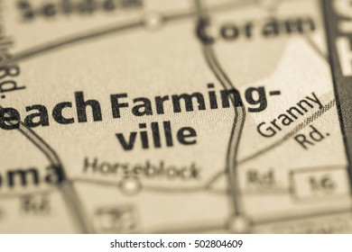 Farming-ville. New York (State). USA.