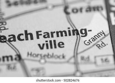 Farming-ville. New York (State). USA.