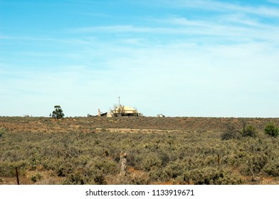 Farmstead north of Quorn, South Australia