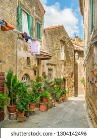 Farnese, old and beautiful village in the Province of Viterbo, Lazio, Italy.
