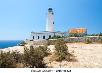 Faro de la Mola lighthouse, Formentera island, Spain
