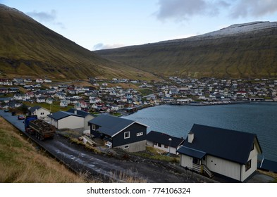 Faroe Islands Eysturoy Island Fuglafjordur