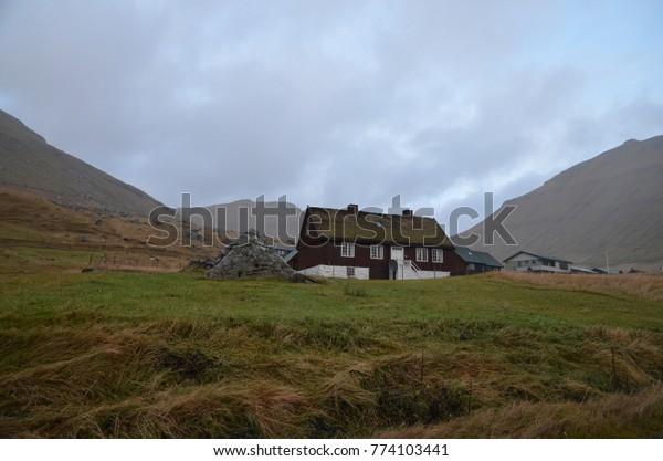 Faroe Islands Eysturoy Island oyndarfjordur