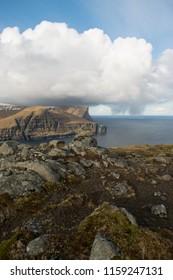 Faroe Islands incredible mountain scenery Eysturoy Streymoy Faroe Islands