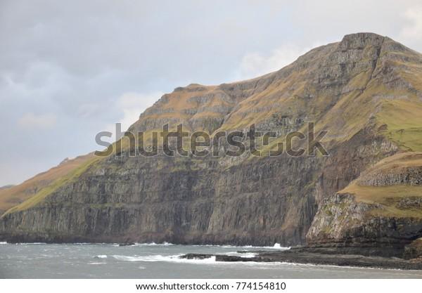 Faroe Islands Suduroy Island Famjin
