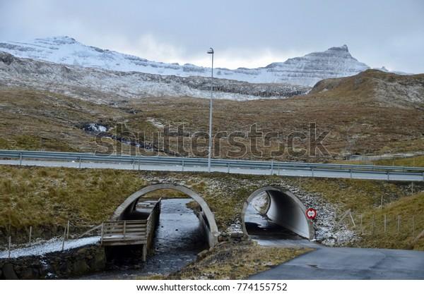 Faroe Islands Suduroy Island Hov