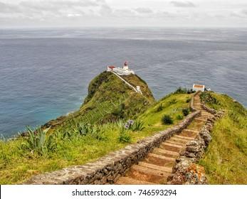 Farol da Maia, Santa Maria, Açores, Portugal