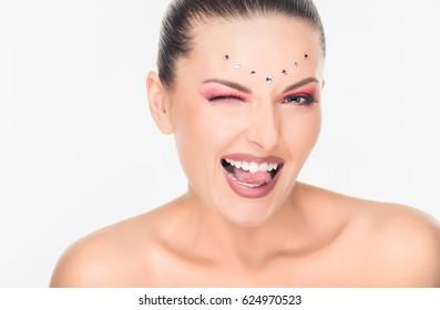 Fashion art make-up