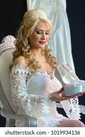 Fashion bride modelling