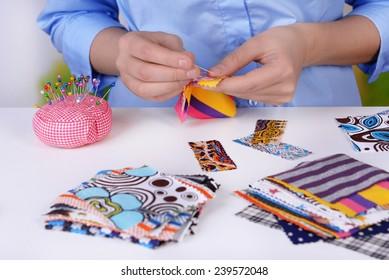 Fashion design, close-up