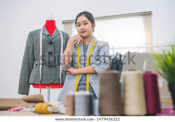 Fashion Designer Stylist Business Owner Workshop Stock Photo Edit Now 1479436322