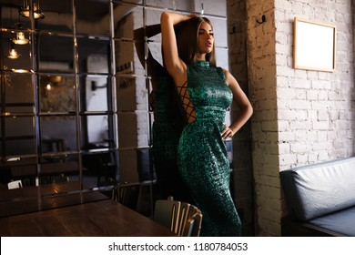 Fashion dresses on the amaizing young model, brunette, dark eyes, dark hair, white dress, long hair, stight hair, luxury, evening dress, beauty, makeup, stylish, posing on the street,party,restaurant