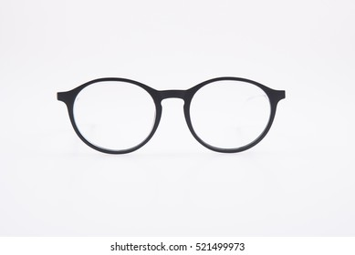 fashion glasses for man on a White background