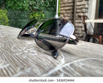 Fashion glasses over table, Chile