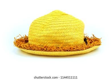Fashion hat isolate on white background