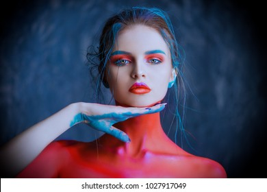 Body Art Images Stock Photos Vectors Shutterstock