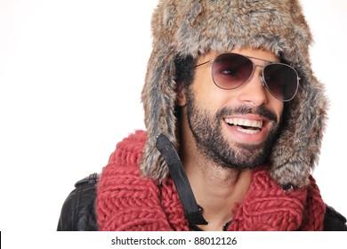fashion man winter