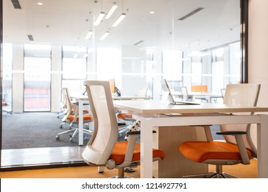Fashion and modern office interiors
