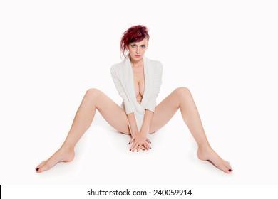 Open legs women Category:Nude women