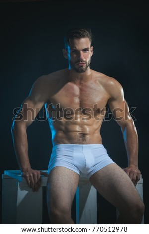 Wekk muscled erotic men