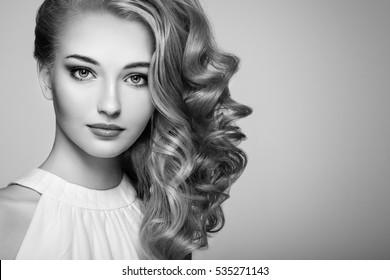 Coiffure Noir Et Blanc Images Stock Photos Vectors Shutterstock