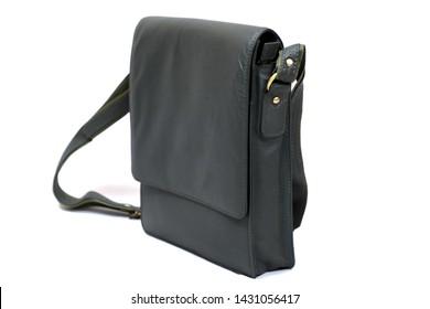Fashion purse handbag on white background isolated